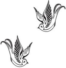 delicate swallow tattoo design by twistedbyro on deviantart