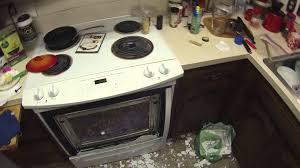 glass oven door shattered exploding kenmore oven youtube