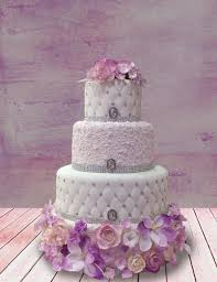 wedding cake lavender cake lavender and white wedding cake 2529840 weddbook