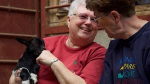 LDS church members train to birth baby goats