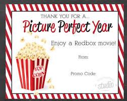 redbox gift card etsy