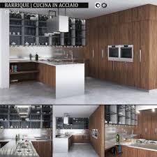 Kitchen Collection Com 3d Model Kitchen Collection Ernestomeda Barrique