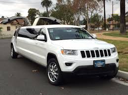 luxury jeep grand cherokee white 140 inch jeep grand cherokee limousine for sale 1422