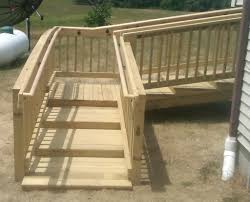 Patio Handrails by Certified Aging In Place Specialist Handicap Accessible Home Gallery