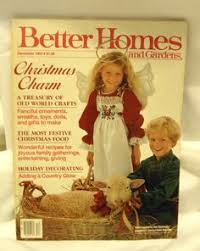 Better Homes And Gardens Christmas Crafts - better homes gardens december 1935 christmas magazines pre