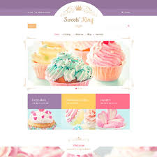 candy website templates