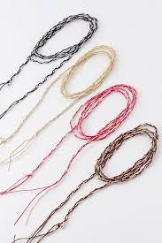 weave wrap bracelet images Fio string weave bead chain wrap bracelet or necklace ava adorn jpg