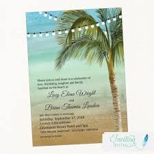 palm tree wedding invitations wedding invitation tropical wedding invitation palm tree