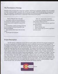 farm writing paper reach out colorado a new way of thinking participatory development reach out