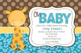 giraffe baby shower ideas giraffe baby shower invitations to create your own baby