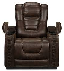 Reclining Armchair Leather Furniture Find Your Maximum Comfort With Perfect Power Recliner