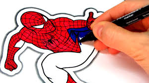 coloring spiderman vs hulk coloring book pages video for kids