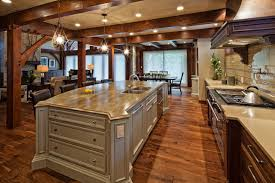 timber frame home interiors luxury timber frame traditional kitchen vancouver by