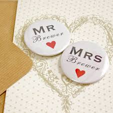 wedding magnets personalised mini magnets wedding card by bedcrumb