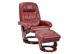 Recliner Chair With Ottoman Accents And Accessories Chairs Swivel Chairs The Furniture