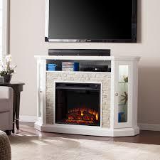 electric media fireplace binhminh decoration