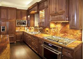 Kitchen With Brown Cabinets 63 Beautiful Traditional Kitchen Designs Designing Idea