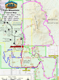 Mesa Arizona Map by Pass Mountain Trail Runs Races Aravaipa Running