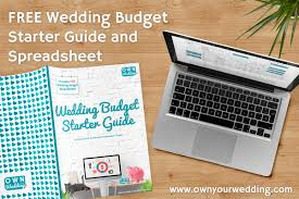 Wedding Expenses List Spreadsheet Wedding Budget Own Your Wedding