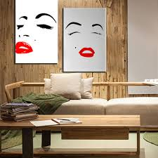 aliexpress com buy xdr007 marilyn monroe canvas painting