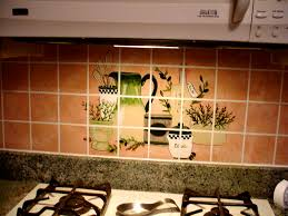 Kitchen Tile Murals Backsplash Kitchen Backsplash Murals For Attractive Kitchens
