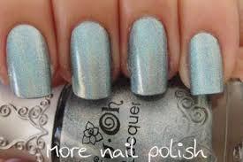 nfu oh 65 blue holo comparison more nail polish