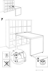 ikea bureau expedit handleiding ikea expedit bureau pagina 8 8 dansk