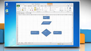 page layout program exles how to make a flow chart in excel 2010 youtube