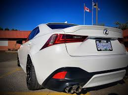 invidia q300 lexus gs 350 can vancouver invidia q300 axel back with quad exhaust tips 250