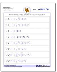 simplifying fractions worksheet ks2 koogra