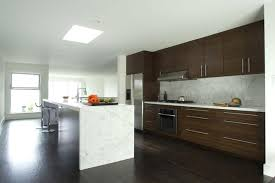 marble island kitchen white marble island contemporary kitchen san francisco by