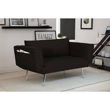 dhp euro linen convertible futon multiple colors walmart com