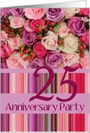 25th Wedding Anniversary Wishes Messages 25th Anniversary Invitations From Greeting Card Universe