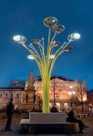 solar tree lights city future pinterest