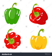 collection colored yellow green red sweet stock vector 604865693