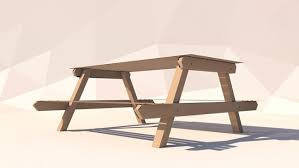 Poly Picnic Tables by Cinema4d Low Poly Explainer Pack The Pixel Lab