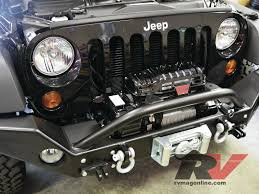 jeep winch bumper tweaking an icon upgrading our jeep wrangler unlimited rv magazine