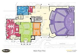 churches floor plans over 5000 house plans