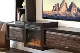 floating tv stand with fireplace eco geo espresso woodwaves