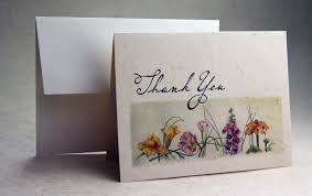 lotka paper thank you cards with lineart images
