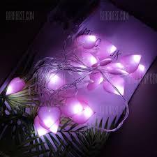 philips led dome christmas lights cloth heart love string lights fairy led home decor light home