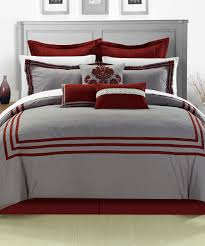 Red Bed Cushions Bedroom Stalker Purple Bedspread Younkers Bedding With Variant