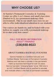 makeup classes in nc samira s permanent cosmetics greensboro nc