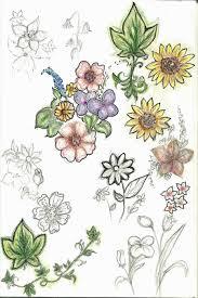 flower sketches by curlygurly222 on deviantart