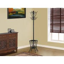 Decorative Metal Garment Floor Rack by Coat Rack Entryway Furniture Furniture The Home Depot
