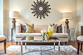 The Secret To Staging With Neutrals That Isnt Boring - Adding color to neutral living room