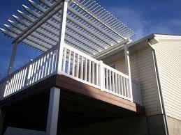 pergolas for decks st louis decks screened porches pergolas