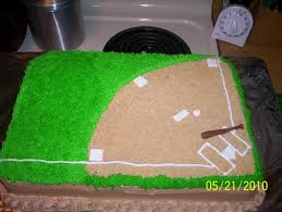 softball cake decorating ideas 100783 softball field cake