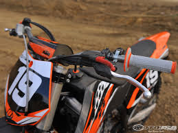 ktm motocross helmets 2010 ktm 250 sx f shootout photos motorcycle usa