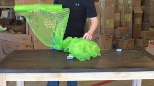 creating a beautiful deco mesh wreath youtube